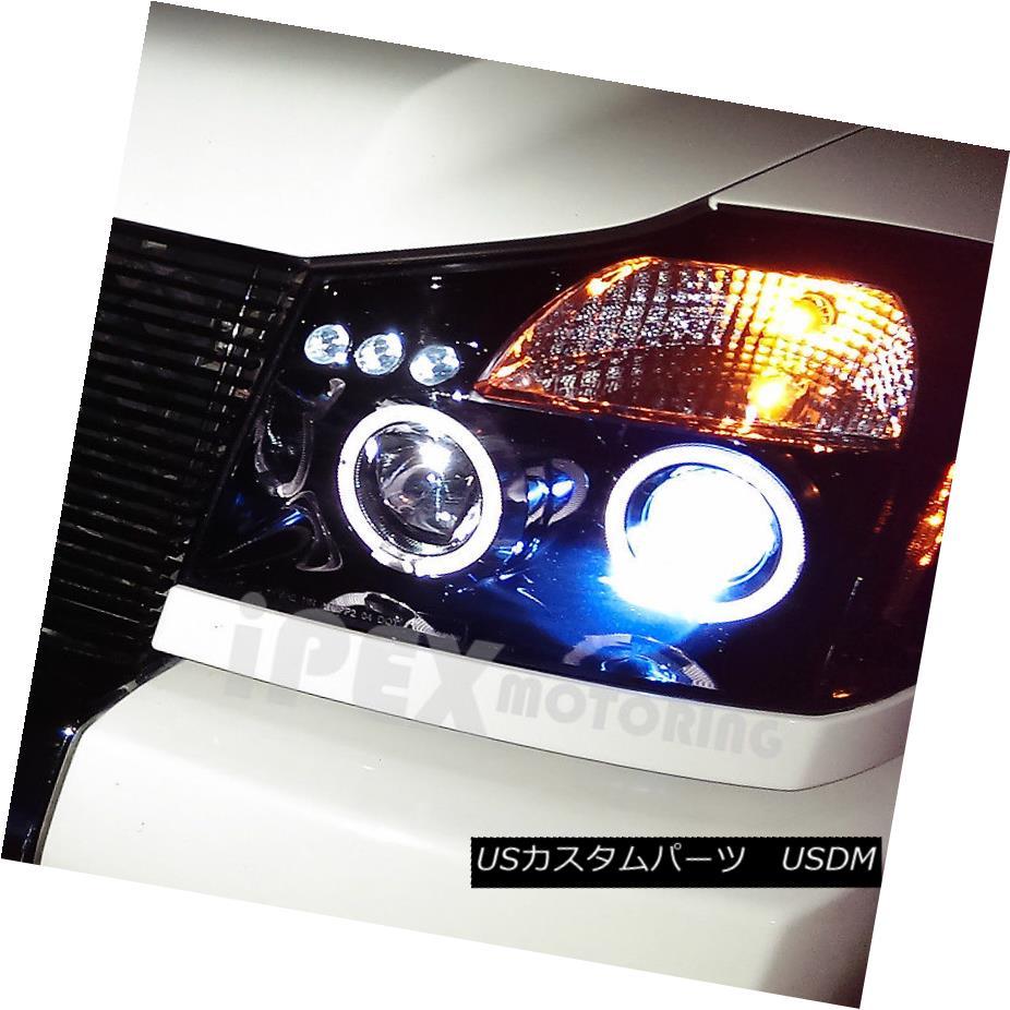 Fog Light Cover for Nissan Titan 04-14 Fog Light Cover Black Left Side
