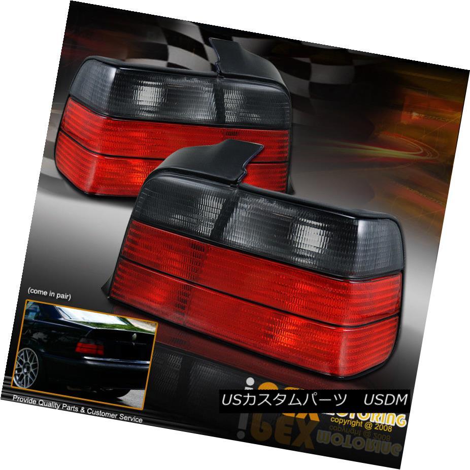 テールライト 92-98 BMW E36 3-Series 4 Door Sedan Red Smoke Atlezza Tail Light Brake Lamp 323i 92-98 BMW E36 3シリーズ4ドアセダンレッド煙Atlezzaテールライトブレーキランプ323i