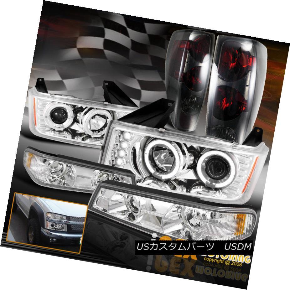 <title>車用品 バイク用品 >> パーツ ライト ランプ テールライト 2004-2012 Chevy Colorado Halo Projector LED Chrome Headlight W Smoke Tail Light 2004-2012シボレーコロラドヘイロープロジェクターLEDクロームヘッドライトW スモークテールライト 70%OFFアウトレット</title>