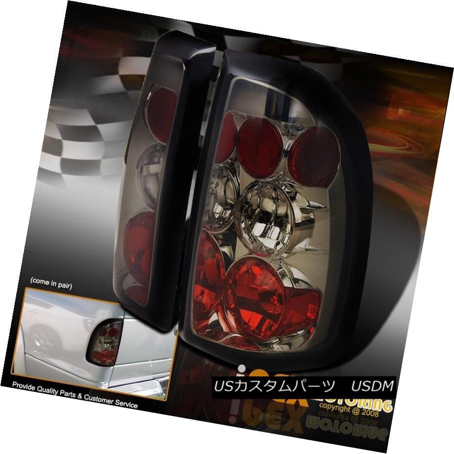 テールライト For 1997-2004 Dodge Dakota Smoke Left + Right Euro Tail Lights Lamp 1997 - 2004年ダッジダコタ煙左+右ユーロテールライトランプ