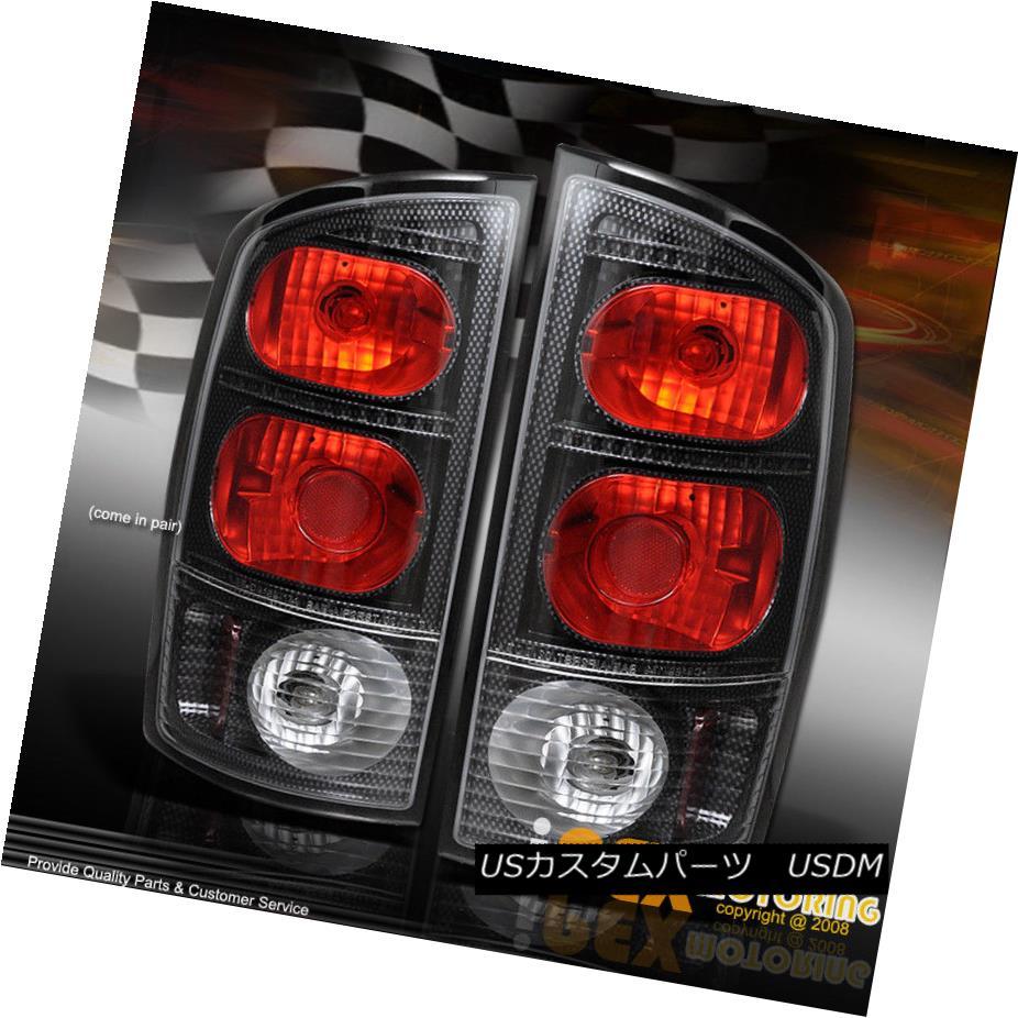 テールライト 2002 - 2006 Dodge RAM 1500/2500/3500 3D Carbon Fiber Pattern Tail Light Lamps 2002 - 2006 Dodge RAM 1500/2500/3500 3Dカーボンファイバーパターンテールライトランプ