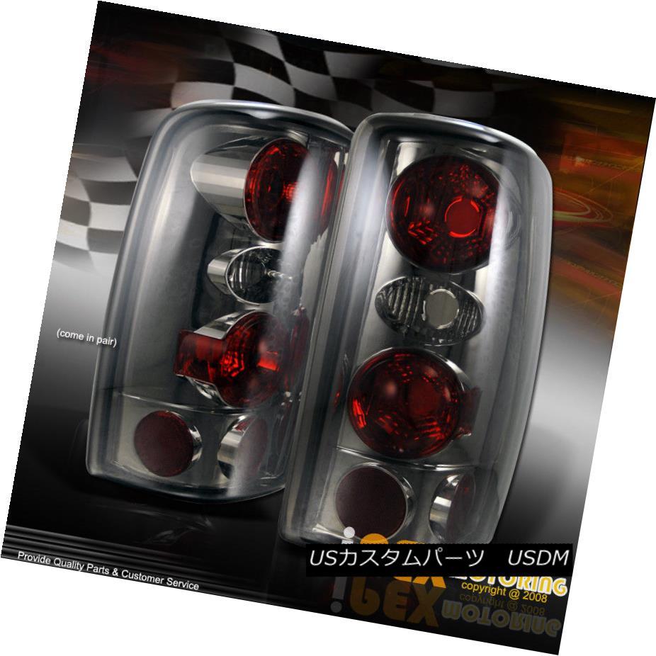 テールライト SMOKEY LOOK 2000-2006 Chevy Suburban/Tahoe/Yukon Smoke Tail Light Brake Lamps SMOKEY LOOK 2000-2006シボレー郊外/タホ/ユーコン煙テールライトブレーキランプ