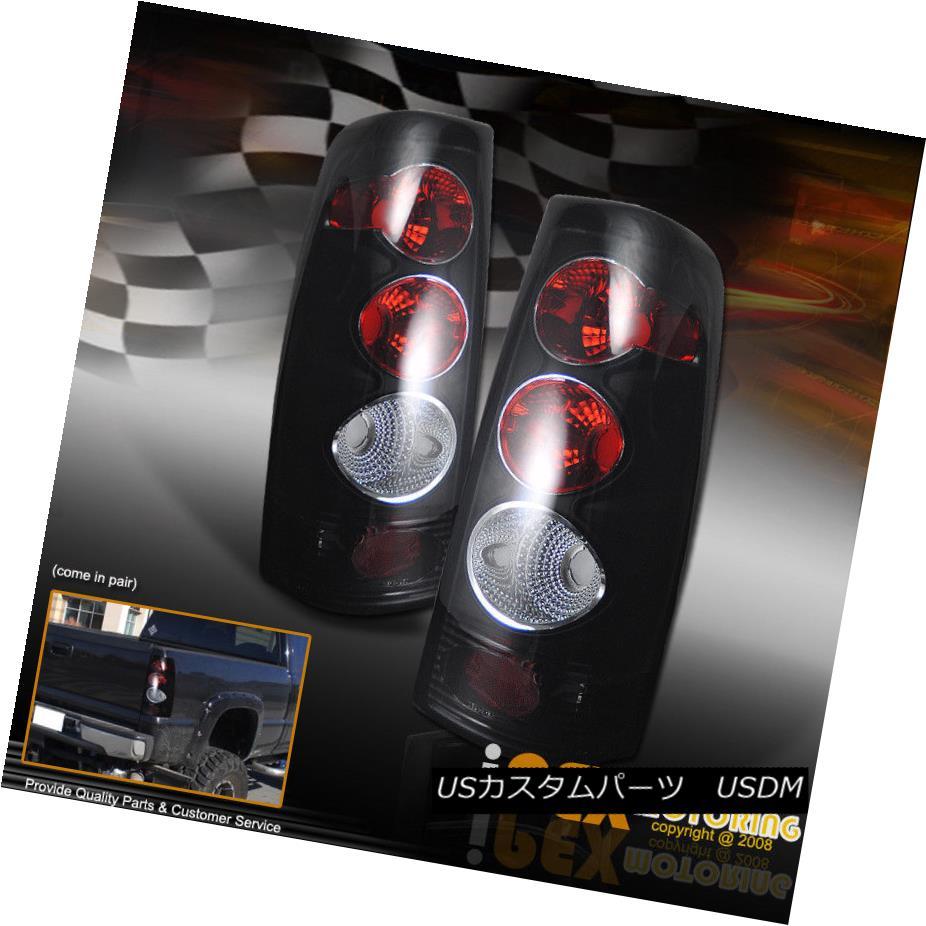 テールライト 99-02 Silverado Sierra 1500/2500 HD BLACK Altezza Brake Reverse Tail Lights Lamp 99-02 Silverado Sierra 1500/2500 HD BLACK Altezzaブレーキリバーステールライトランプ