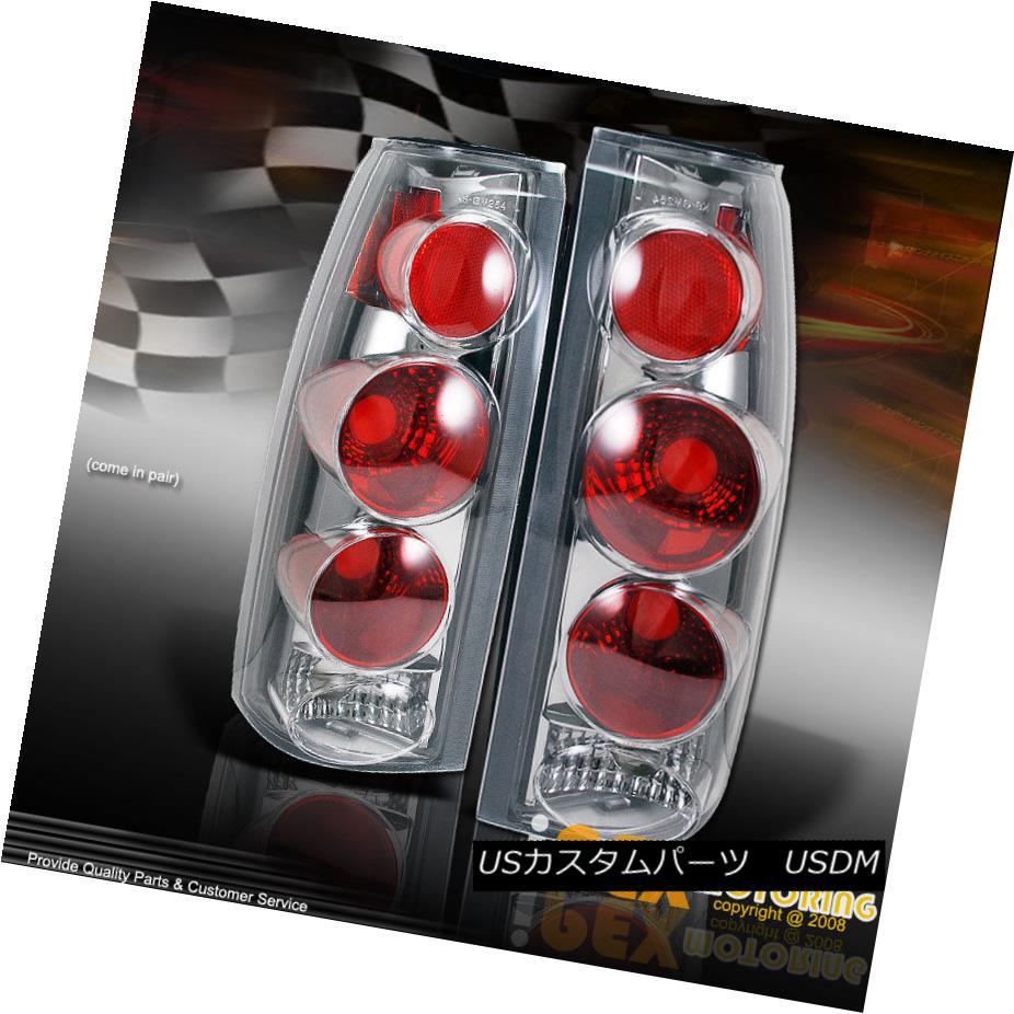 テールライト 1988-1998 Chevy GMC C/K 1500 2500 3500 Silverado Tahoe Suburban Euro Tail Lights 1988-1998シボレーGMC C / K 1500 2500 3500シルバラードタホ郊外ユーロテールライト