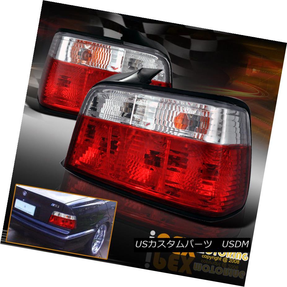 テールライト PREMIUM 1992-1998 BMW E36 3-Series 4Dr Sedan 318i 320i 328i Euro Tail Lights プレミアム1992-1998 BMW E36 3シリーズ4Drセダン318i 320i 328iユーロテールライト