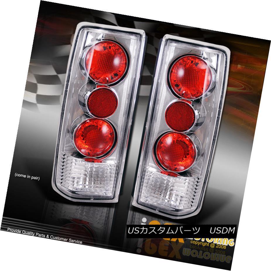 テールライト VALUE COMBO: 85-05 Chevy Astro / GMC Safari Euro Chrome Tail Light Lamps Pair VALUE COMBO:85-05 Chevy Astro / GMC Safariユーロクロムテールライトランプペア