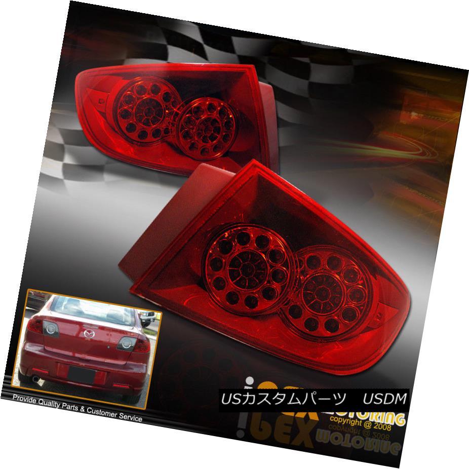 LED SMDリアテールライトランプ テールライト Sedan FULL 04-06 ~ULTRA Lamps BRIGHT~ Tail / ?ウルトラブライト?04-06マツダ3セダンJDM Rear LED/SMD Lights 3 JDM FULL Mazda