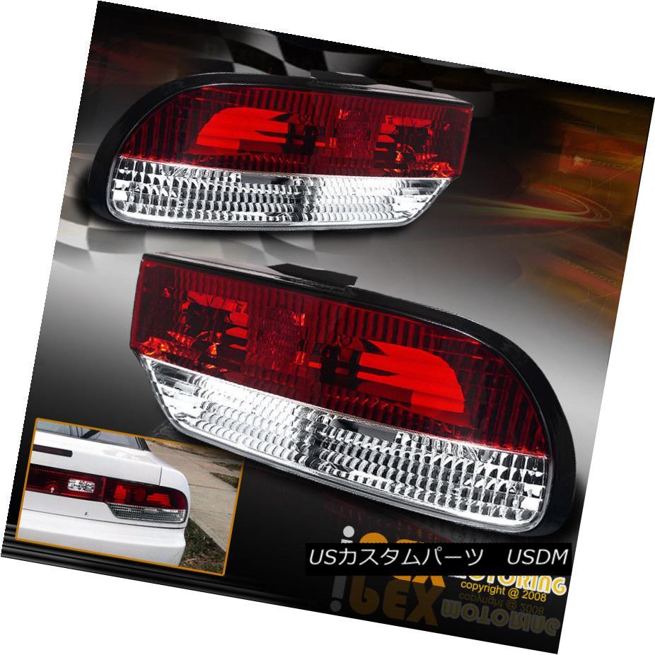 テールライト NEW For 1989-1994 Nissan 240SX / S13 Silvia Hatchback Fastback Red Tail Lights NEW 1989-1994日産240SX / S13シルビアハッチバックファストバックレッドテールライト