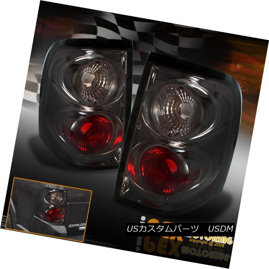 テールライト 2002 2003 2004 2005 Ford Explorer 4Dr Smoke Euro Tail Lights Brake Lamps 2002 2003 2004 2005フォードエクスプローラー4Drスモークユーロテールライトブレーキランプ