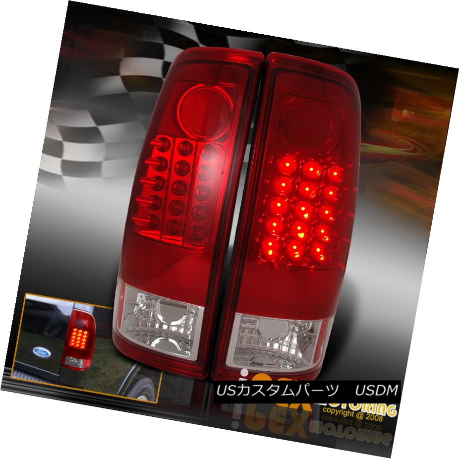 テールライト 1997 98 99 00 01 02 2003 Ford F150/F250/F350 LED Tail Lights RED 1997 98 99 00 01 02 2003 Ford F150 / F250 / F350 LEDテールライトRED