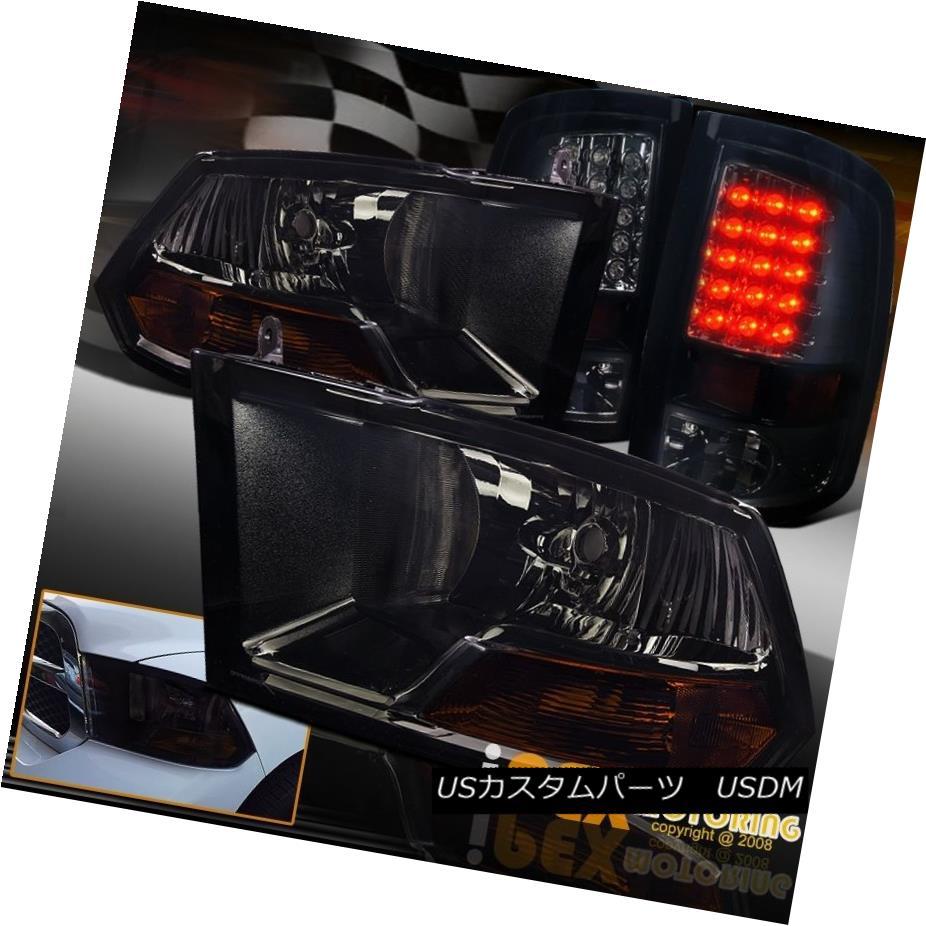 車用品 バイク用品 >> パーツ ライト ランプ テールライト 09-16 Dodge Ram 1500 Black Tail 09-16ダッジラム1500 LED Smoke Light 2500ダークスモークブラックヘッドライト+ダークスモークLEDテールライト 激安セール Headlight 2500 全店販売中 + Dark
