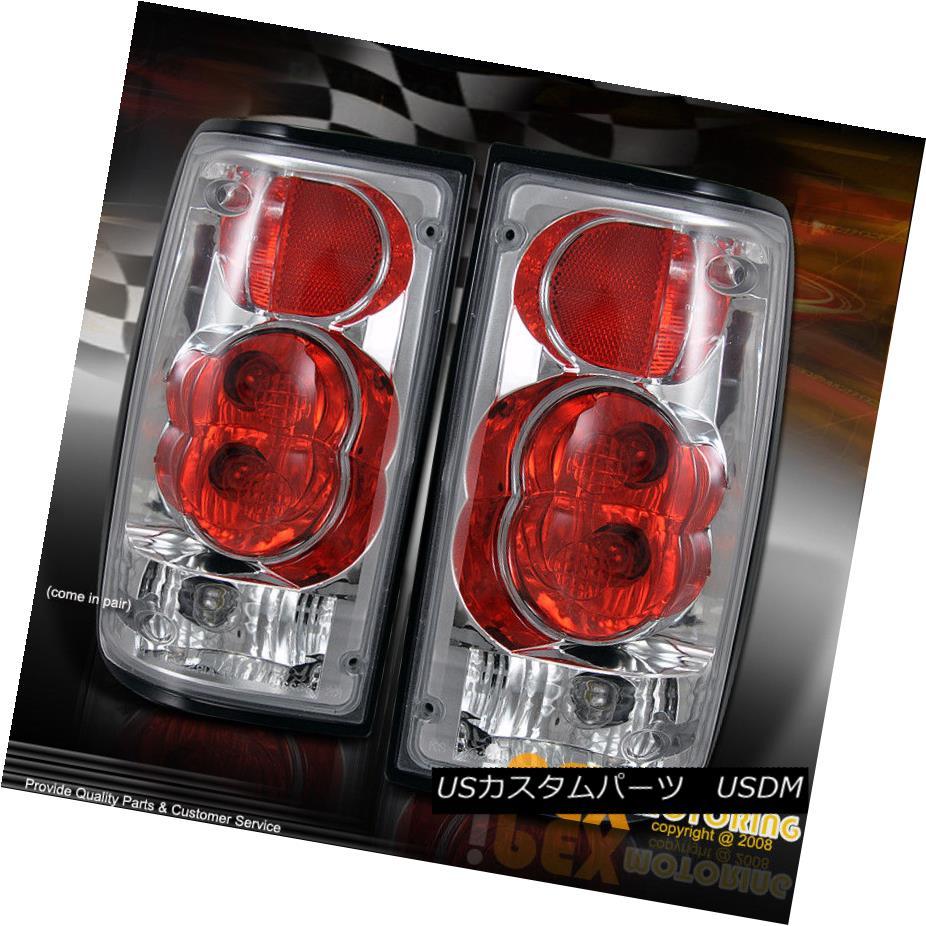 テールライト 1989-1995 Toyota Pickup Truck Red/Clear Tail Light Brake Lamps W/ Bulbs + Wires 1989-1995 Toyota Pickup Truckレッド/クリアテールライトブレーキランプW /電球+ワイヤー