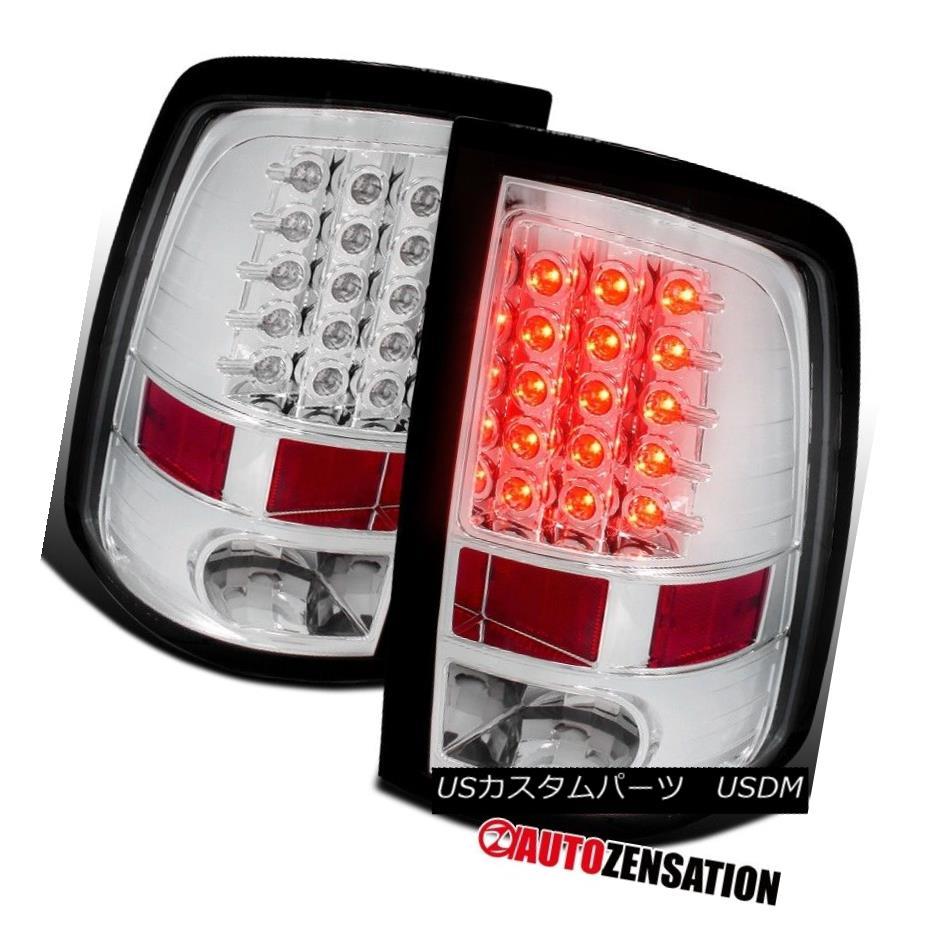テールライト Dodge 09-17 Ram 1500 10-17 Ram 2500/3500 Chrome LED Tail Brake Lights ドッジ09-17ラム1500 10-17ラム2500/3500クロムLEDテールブレーキライト