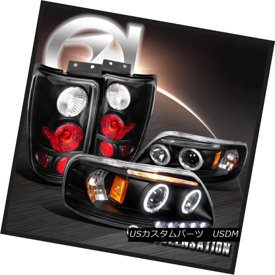 テールライト 97-02 Expedition Black LED 97-02 Halo Projector Headlights & & Halo Altezza Tail Lamps 97-02遠征ブラックLEDハロープロジェクターヘッドライト& Altezzaテールランプ, atmack*家具 雑貨 事務用品:6434551e --- officewill.xsrv.jp