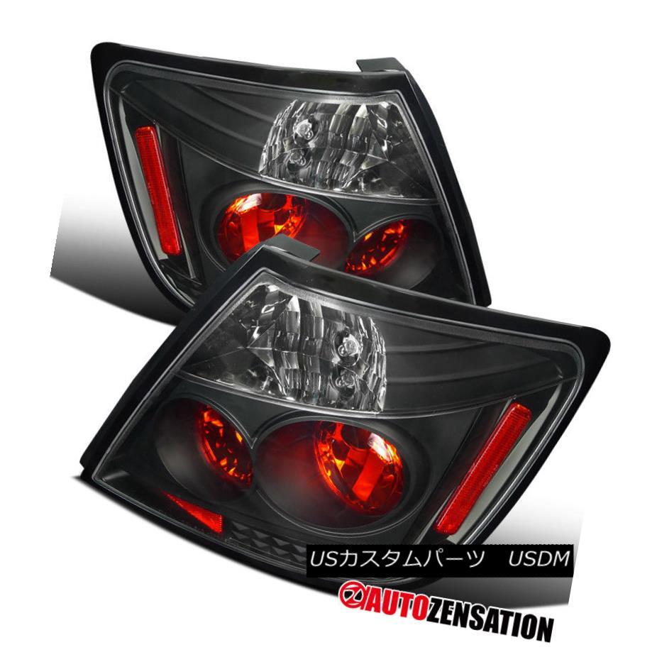 テールライト 04-10 Scion TC Black Altezza Tail Lights Rear Brake Lamps 04-10サイオンTCブラックアルテッツァテールライトリアブレーキランプ