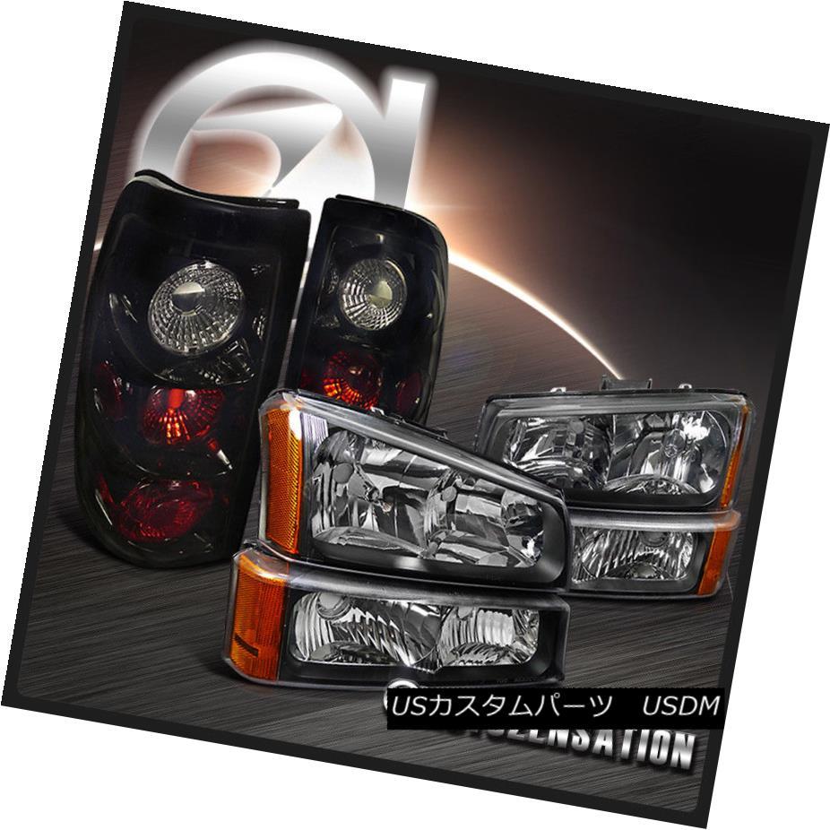 テールライト 03-06 Silverado 03-06 Black Headlights+Bumper+Glossy Black Black + Dark Smoke Tail Brake Light 03-06 Silverado Blackヘッドライト+ Bum + Glossy Black Dark Smokeテールブレーキライト, 富田林市:409ba8e0 --- officewill.xsrv.jp