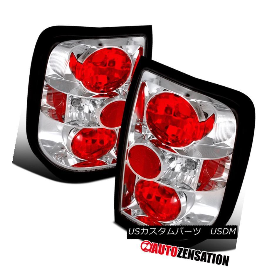テールライト Fit 96-04 Pathfinder 97-04 QX4 Altezza Chrome Tail Lights Rear Brake Lamp フィット96-04パスファインダー97-04 QX4アルテッツァクロムテールライトリアブレーキランプ