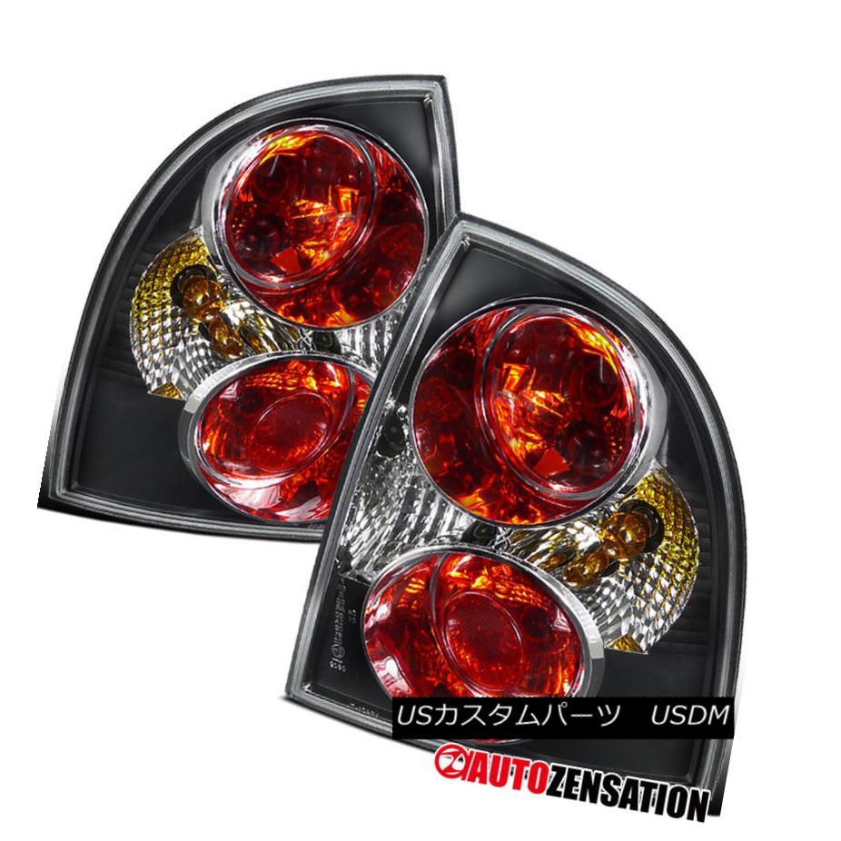 テールライト For 01-05 VW Passat 4dr Sedan Black Altezza Tail Lights Rear Brake Lamps 01-05 VW Passat 4drセダンブラックアルテッツァテールライトリアブレーキランプ