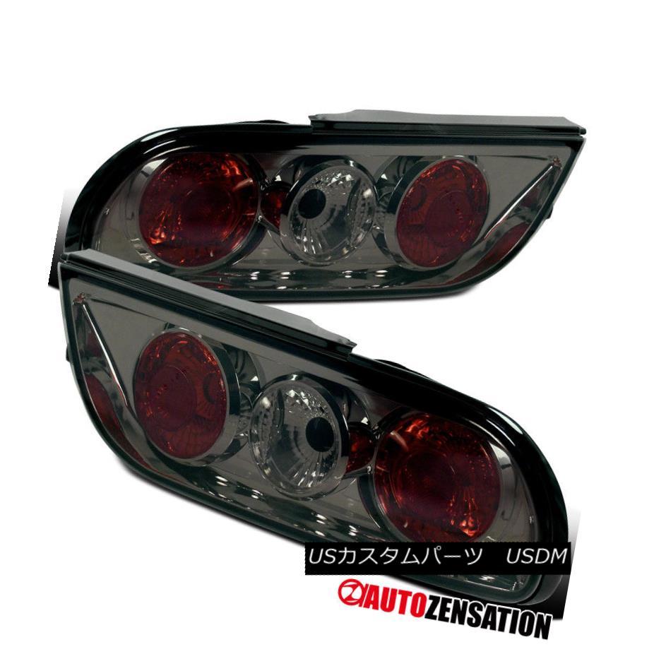 テールライト For 1989-1994 Nissan 240SX S13 Hatchback Smoke Lens Tail Lights Rear Lamp 1989-1994 Nissan 240SX S13ハッチバックスモークレンズテールライトリアランプ