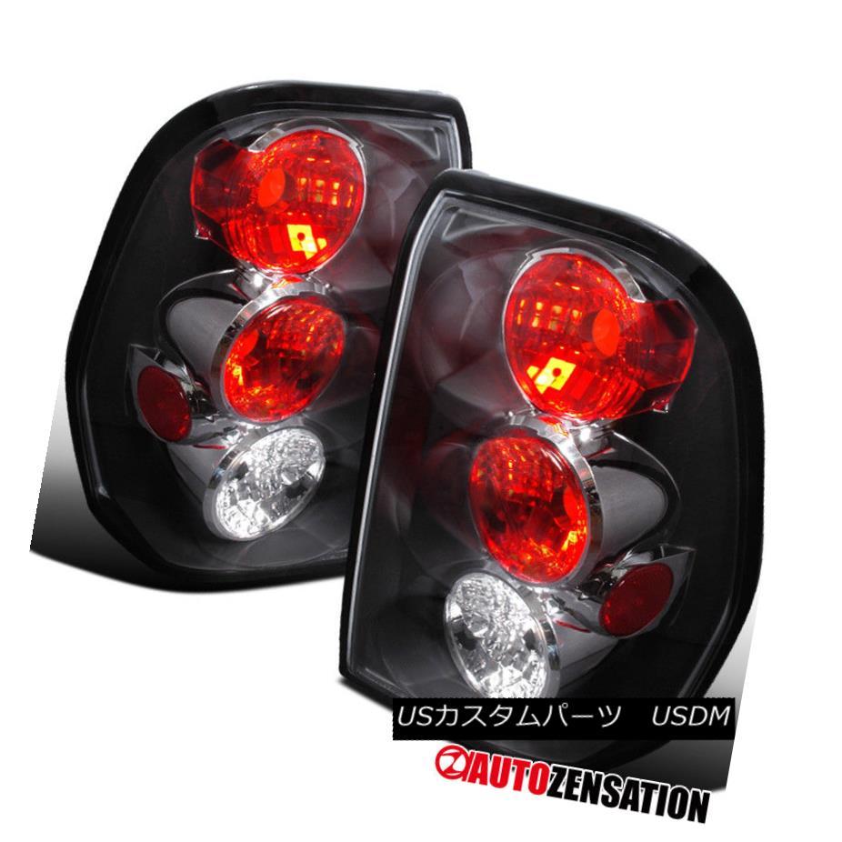 テールライト 2002-2009 Chevy Trailblazer Altezza Black Clear Tail Lights Rear Lamp 2002-2009シボレー・トレイルブレイザー・アルテッツァ・ブラッククリアテールライトリア・ランプ