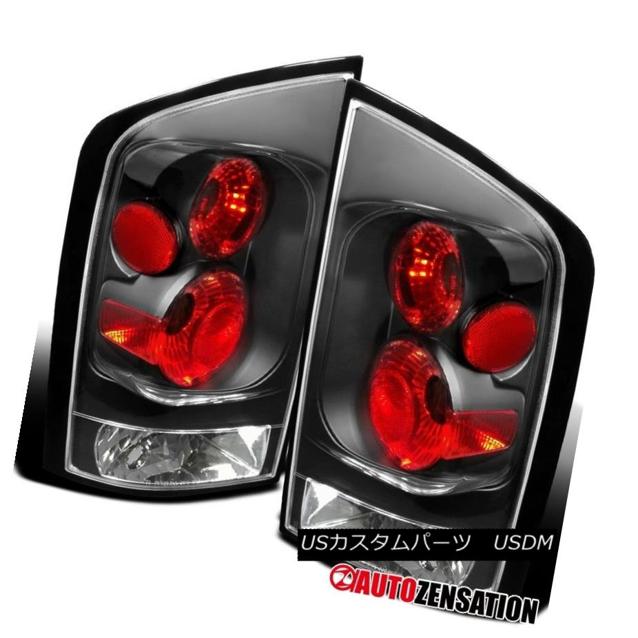 テールライト For 2005-2012 Armada Black Rear Brake Lamps Tail Lights Armada Blackリアブレーキランプテールライト