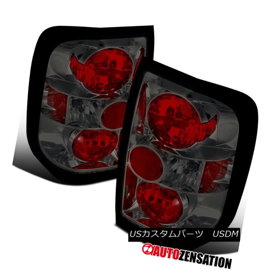 テールライト For 96-04 Pathfinder 97-04 QX4 Altezza Smoke Tail Lights Rear Brake Lamp 96-04用Pathfinder 97-04 QX4 Altezzaスモークテールライトリアブレーキランプ