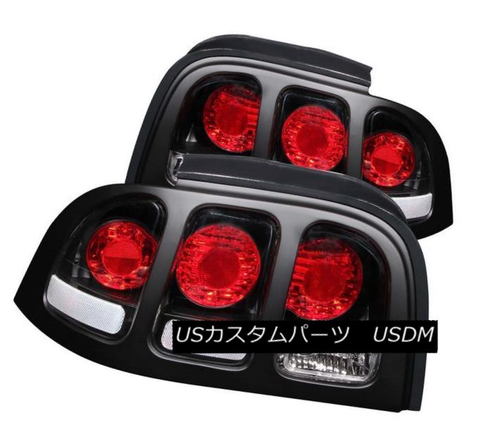 テールライト ANZO 221020 Ford Set of 2 Black Tail Lights ANZO 2 for 1994-1998 Ford Mustang ANZO 221020 1994-1998 Ford Mustang用の2つのブラックテールライトのセット, ベストギャラリー:88e11268 --- officewill.xsrv.jp