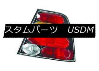 テールライト IPCW CWT-CE3034CBA Pair of Black/Red/Amber Euro Tail Lights for 99-05 VW Jetta IPCW CWT-CE3034CBA 99-05 VW Jetta用ブラック/レッド/アンペア rユーロテールライトのペア