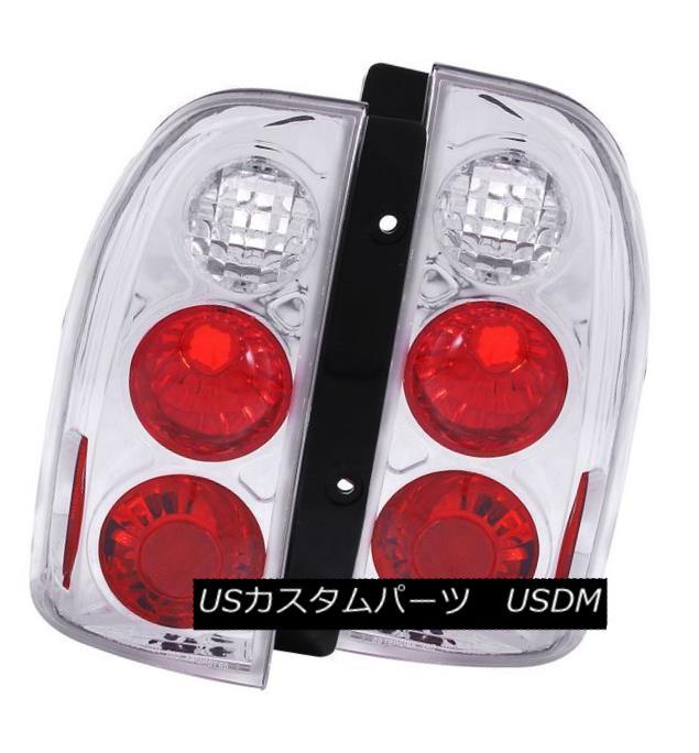 テールライト ANZO 211135 Set of 2 Chrome Tail Lights for 2001 Suzuki XL-7 ANZO 211135スズキXL-7用クロームテールライト2個セット