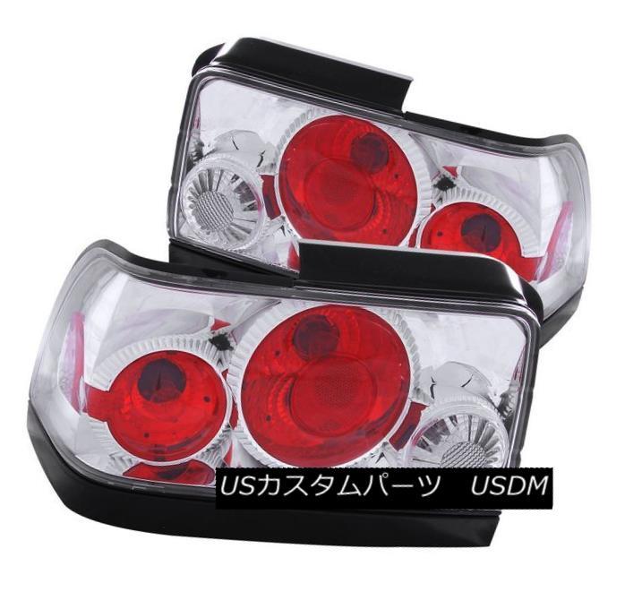 テールライト ANZO 221111 Set of 2 Chrome Tail Lights for 1993-1997 Toyota Corolla ANZO 221111トヨタカローラ1993-1997用クロームテールライト2個セット