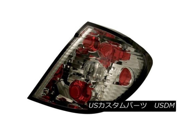 テールライト IPCW CWT-CE3327CS Pair of Platinum Smoke Euro Tail Lights for 03-07 Saturn Ion IPCW CWT-CE3327CSプラチナ煙ユーロテールライトのペア03-07土曜日のイオン
