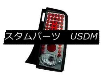 テールライト IPCW LEDT-2034CS Pair of Platinum Smoke LED Tail Lights for 03-07 Scion XB IPCWのLEDT - 2034CSのペア白金の煙のLEDテールライトの03-07 Scion XB用