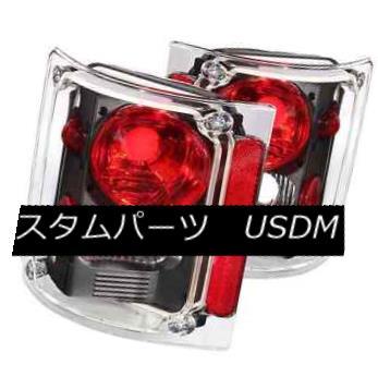 テールライト ANZO 211016 Set of 2 Black Tail Lights for C/K Pickup/Suburban/Blazer/Jimmy ANZO 211016 C / Kピックアップ/サブバブ用ブラックテールライト2個セット n / Blazer / Jimmy