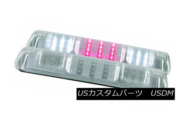 テールライト ANZO 531088 Set of 2 Chrome LED 3rd Brake Lights for F-150 /Explorer/Mark LT ANZO 531088 F-150 / Explorer / Mark LT用クロームLED第3ブレーキライトのセット