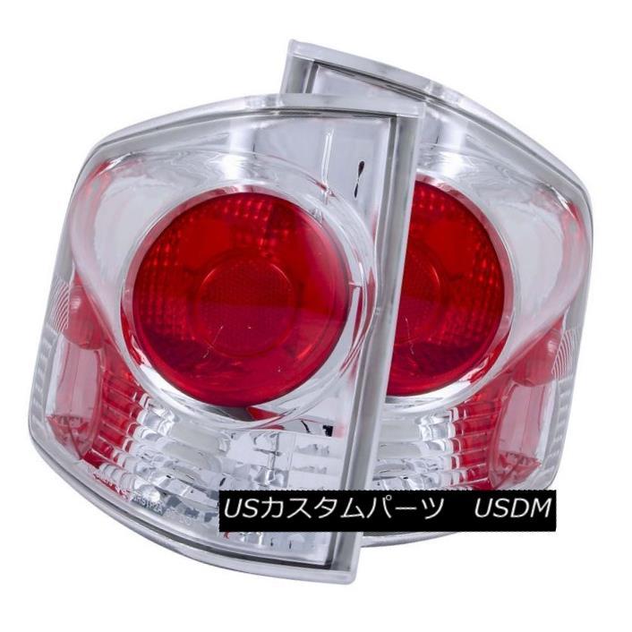 テールライト ANZO 211032 Set of 2 Chrome 3D Style Tail Lights for 94-04 Chevy S-10/GMC Sonoma ANZO 211032 94-04シボレーS-10 / GMCソノマ用2クローム3Dスタイルテールライトのセット