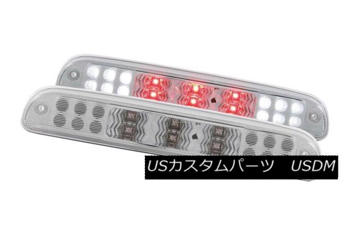 テールライト ANZO 531076 Single Chrome LED 3rd Brake Lights for Ford Super Duty/Ranger ANZO 531076フォードスーパーデューティ/レンジャー用シングルクロームLED第3ブレーキライト