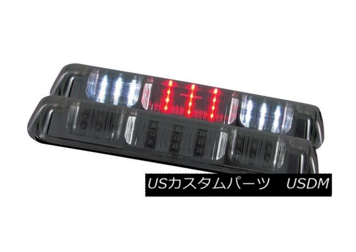 テールライト ANZO 531089 Set of 2 Smoke Lens LED 3rd Brake Lights for F-150/Explorer/Mark LT ANZO 531089 F-150 /エクスプローラのための2つのスモークレンズLED第3ブレーキライトセット / Mark LT