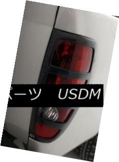 テールライト Auto Ventshade AVS 36146 Black Horizontal Slot Taillight Covers for Canyon キャビネット用自動Ventshade AVS 36146ブラック水平スロット尾灯カバー