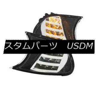テールライト Anzo 511080 Pair of Chrome LED Parking Side Markers for BMW 3 Series E46 2 Door Anzo 511080ペアBMW 3シリーズE46 2ドアのクロームLED駐車サイドマーカー