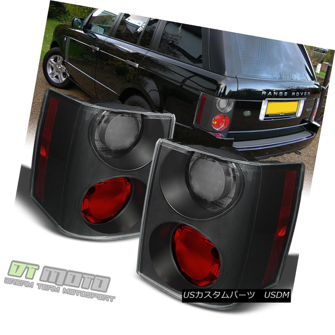 テールライト 2006-2009 Land Rover Range Rover HSE Red Smoke LED Tail Lights Brake Lamps Set 2006 - 2009年ランドローバーレンジローバーHSEレッドスモークLEDテールライトブレーキランプセット