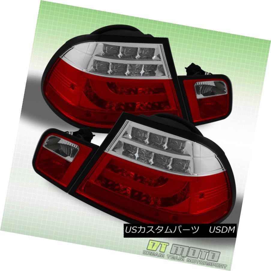 テールライト 2004 2005 2006 BMW E46 3-Series 2Dr Philips LED Bar Tail Lights Lamps Left+Right 2004 2005 2006 BMW E46 3シリーズ2Dr Philips LEDバーテールライトランプ左右+