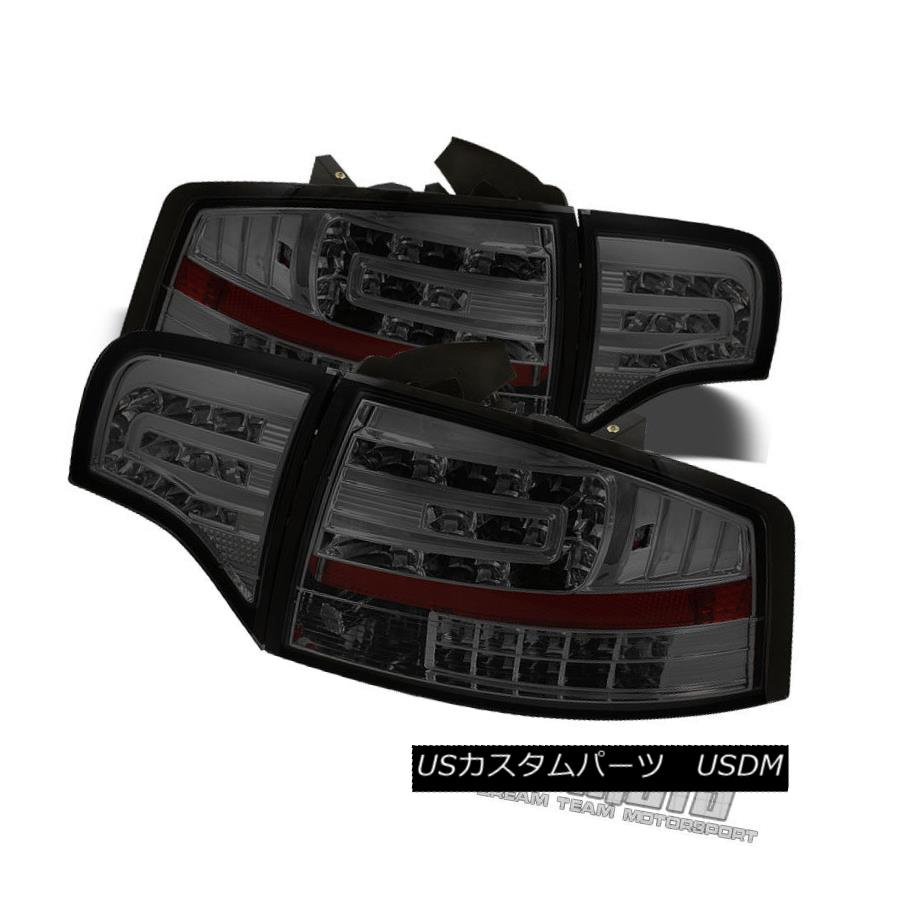 テールライト Smoked 2005-2008 Audi A4/S4/RS4 B7 Sedan Philips-Led Perform Tail Lights Lamps スモーク2005-2008 Audi A4 / S4 / RS4 B7セダンPhilips-Ledテールライトランプ