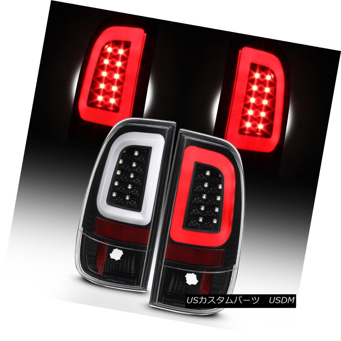 テールライト NEW Black 2008-2016 Ford F250 F350 F450 SD SuperDuty LED Tube Tail Lights Lamps NEW Black 2008-2016 Ford F250 F350 F450 SD SuperDuty LEDチューブテールライトランプ
