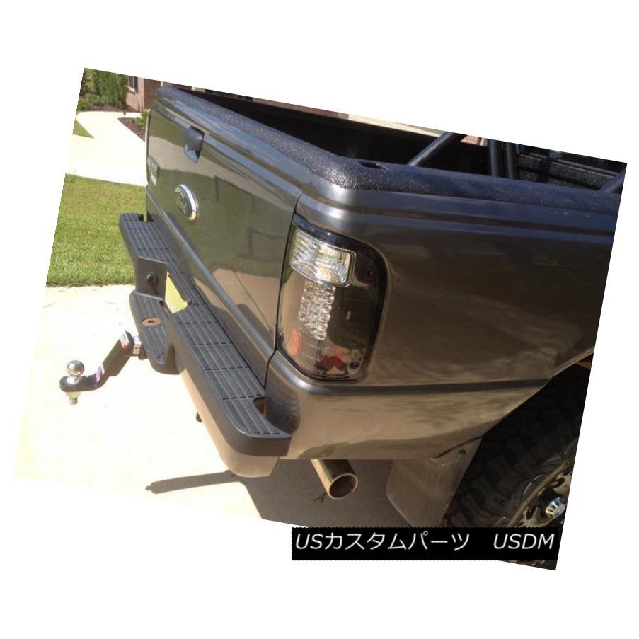 テールライト Black 2001-2005 Ford Ranger Lumileds LED Taillights Tail Lights Lamps Left+Right ブラック2001-2005 Ford Ranger Lumileds LEDテールライトテールライトランプLeft + Right