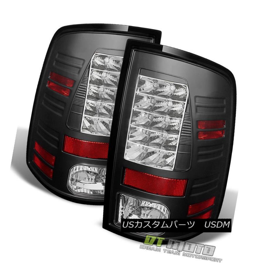 テールライト Black 2013-2017 Dodge Ram Philips Lumileds LED Tail Lights Lamps 13 14 15 16 17 黒2013-2017 Dodge Ram Philips Lumileds LEDテールライトランプ13 14 15 16 17