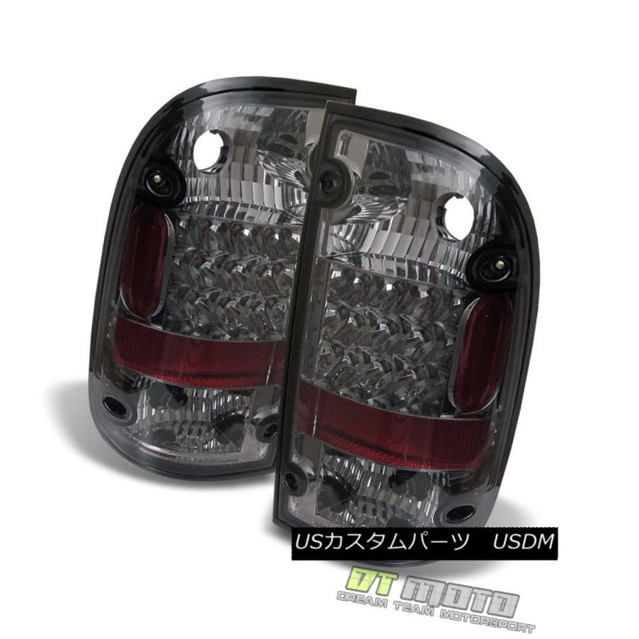 テールライト Smoked 1995-2000 Toyota Tacoma Pickup Lumileds LED Tail Lights Brake Lamps 95-00 スモーク1995-2000トヨタタコマピックアップLumileds LEDテールライトブレーキランプ95-00