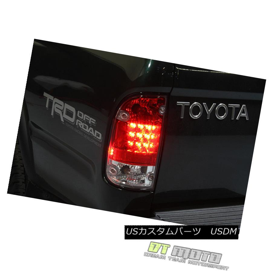 テールライト Lamp Toyota 1995-2000 Toyota Tacoma Lumileds LED Red Clear Tail Red Lights Lamp 95-00 Left+Right 1995-2000 Toyota Tacoma Lumileds LEDレッドクリアテールライトランプ95-00左+右, エムスタ:e01da9fa --- officewill.xsrv.jp