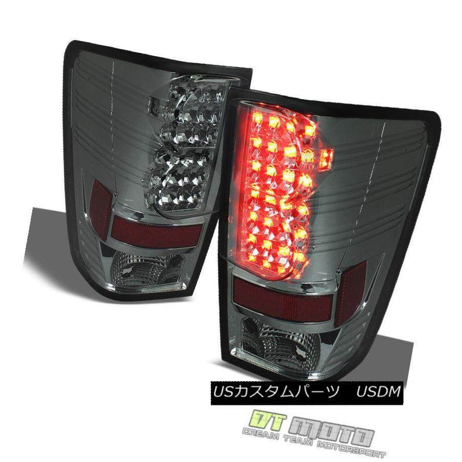 テールライト Smoked Fit 04-15 Titan Philips-Led Perform Tail Brake Lights Lamps Left+Right Smoked Fit 04-15 Titan Philips-Ledはテール・ブレーキ・ランプを点灯させます。