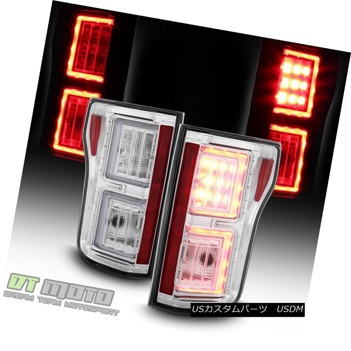 テールライト 2015 2016 2017 Ford F150 Truck LED Light Bar Tail Lights Brake Lamps Left+Right 2015 2016 2017フォードF150トラックLEDライトバーテールライトブレーキランプ左+右