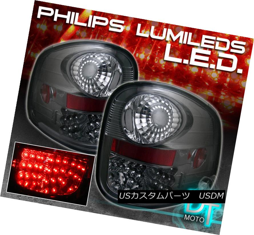 テールライト Smoke Tinted 00-03 F-150 F150 [Flareside] Philips Lumileds LED Tail Lights Set 煙がかかった00-03 F-150 F150 [Flareside] Philips Lumileds LEDテールライトセット